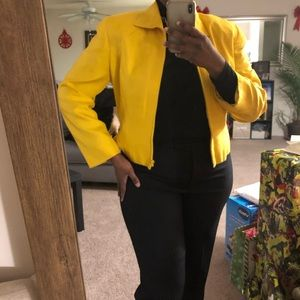 Vintage Finity Bright Yellow Jacket/Blazer